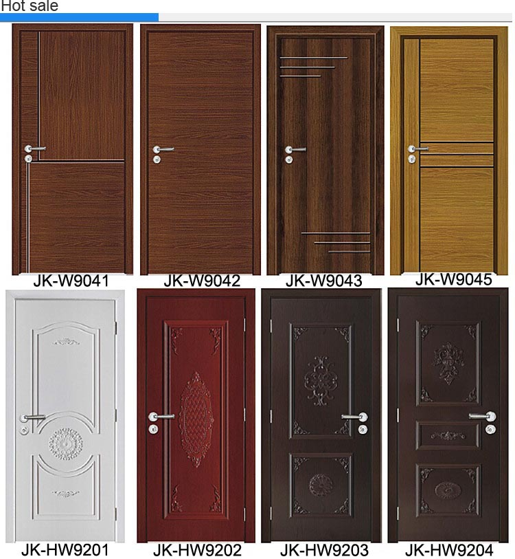 Jk hw9109 24 inches lowes exterior wood plywood doors for Single door designs for indian homes