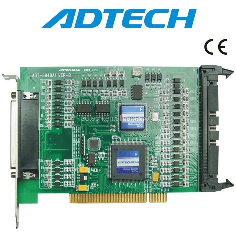 CE, RoHS, Multi-axis CNC Control Card, ADT-8948A1 PCI BUS 4 Axis Motion Control Card