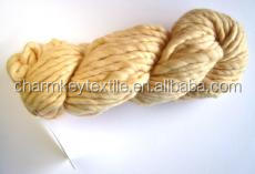 2014 China wholesale fancy wool blended alpaca ball yarn with Angora yellow color
