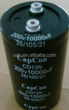 Electrolytic Capacitor 200V 10000UF 10000MFD 200VDC