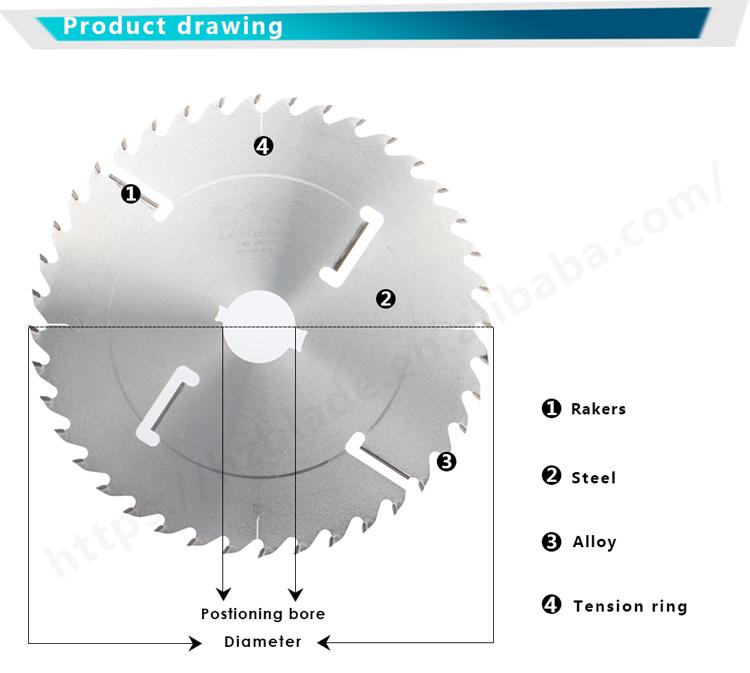 Carbide Tipped Circular Saw Blades Cutting Disc Hard Wood