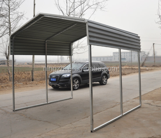 Steel Outdoor Shelters : Metal materials of outdoor shelter for car storing buy