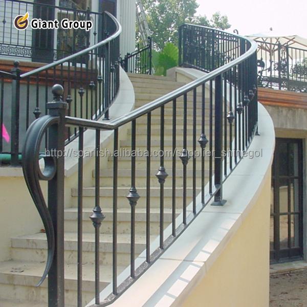Barandillas para escaleras de interior perfect ideas para - Escaleras de forja interiores ...
