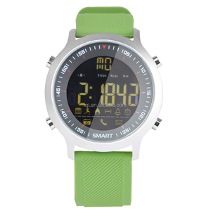 Orange Makibes EX18 Smart Watch 5ATM Waterproof Bluetooth 4.0 Call SMS Reminder Compatibie with iOS Android