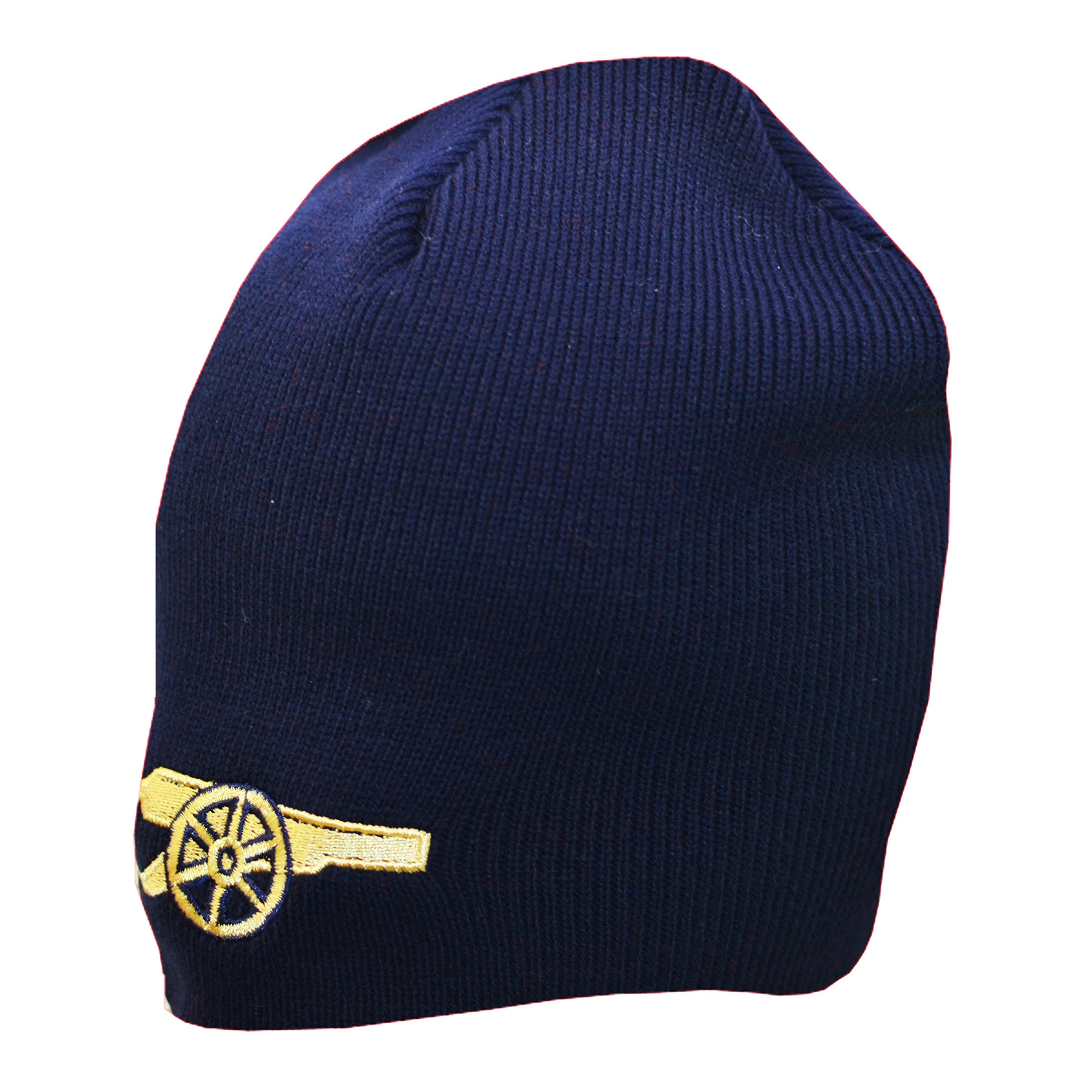 663cabb383e1d Get Quotations · Arsenal FC Authentic EPL Knit Hat - Gunners Navy