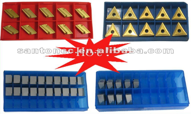 Rectangular carbide inserts knives for bamboo cutting