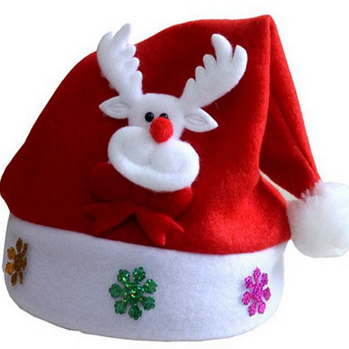 Wholesales good quality adults Children <strong>Christmas</strong> hat Xmas cap for <strong>christmas</strong>