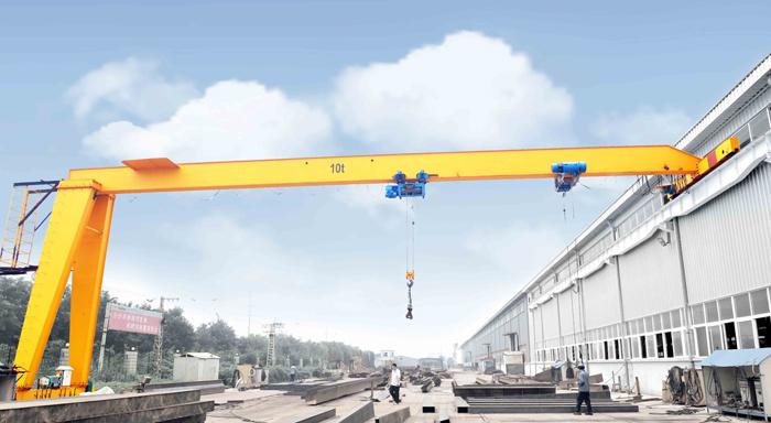 mh 5 ton 10 ton single girder semi gantry cranes 20 ton price