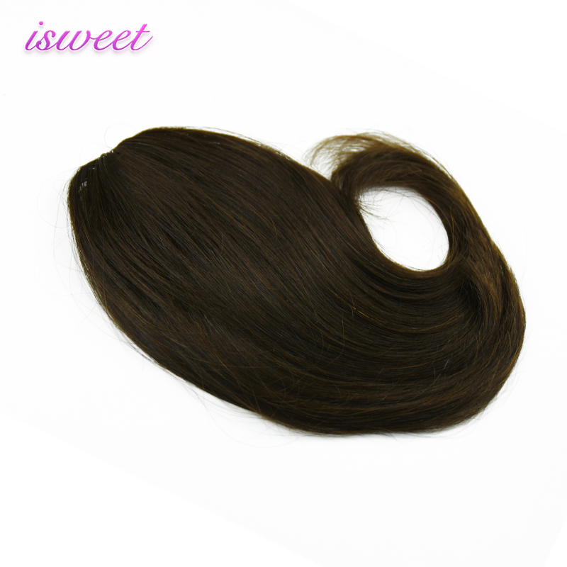 100% human hair bangs clip in fringe for women hot sale Brazilian remy hair bangs