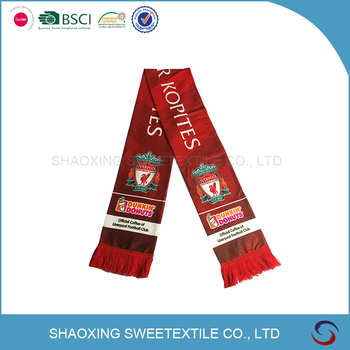 Factory Directly Provide Custom Football Scarf