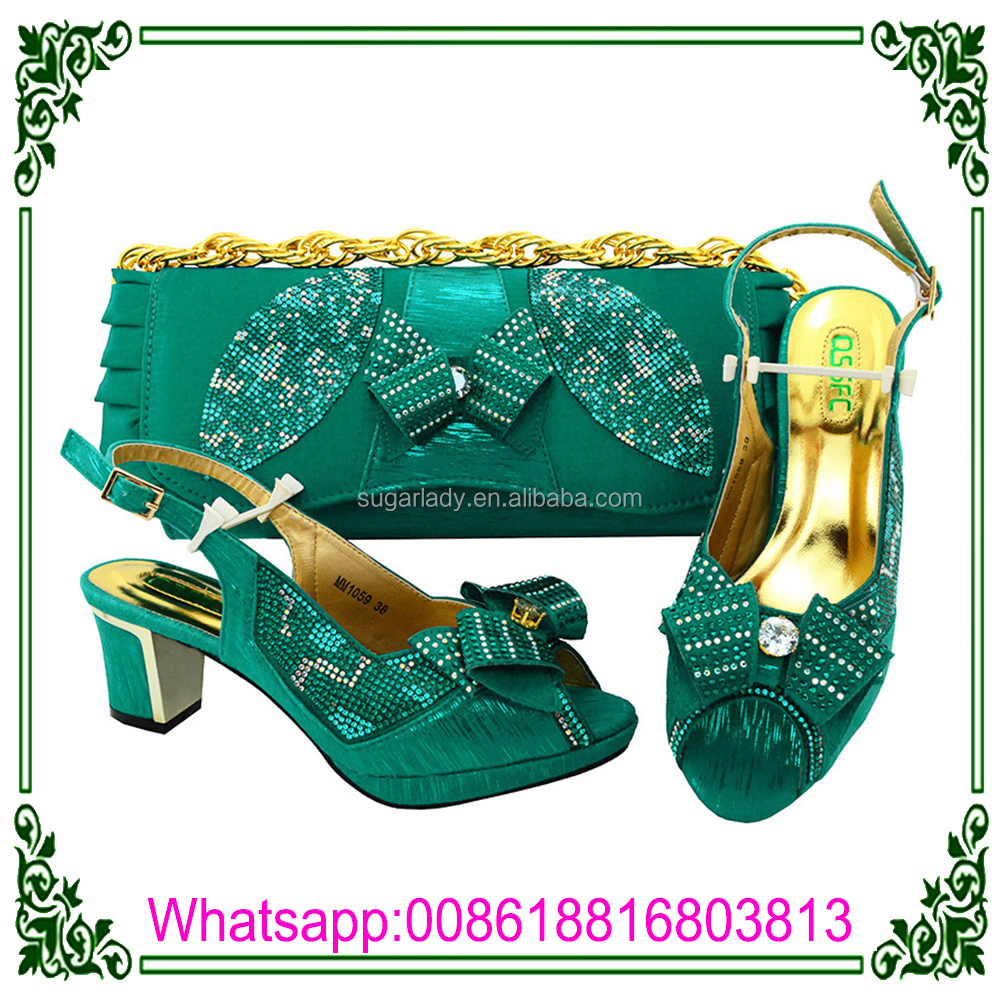 for Shoe with Matching and Italian Bag Bag Shoe African Set Party WITgxnTp
