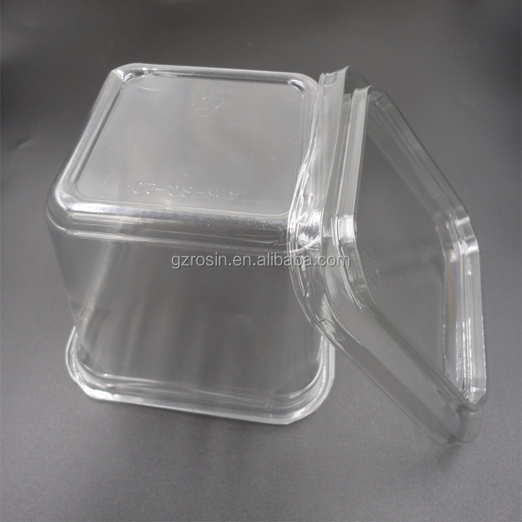 transparent disposable pet plastic blister strawberry packing
