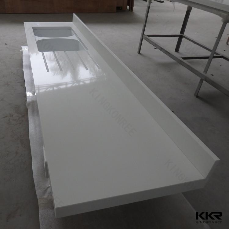 Großhandel harz küchenarbeitsplatte, weiß galaxie granits ... | {Küchenarbeitsplatte kunststoff 14}