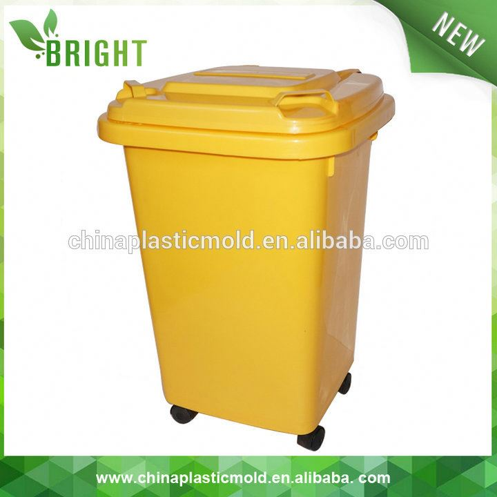 Public plastic dustbin wholesale, Brand new big size plastic dustbin dustbin type