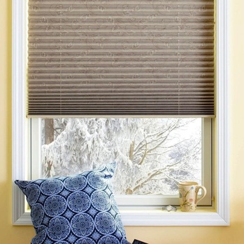 Indoor Hot Sale Lace Window blinds cellular shades Pleated Blinds