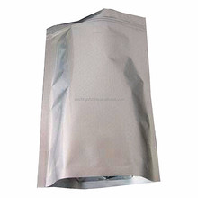 Metalized resealable stand up pouch /retort pouch with ziplock