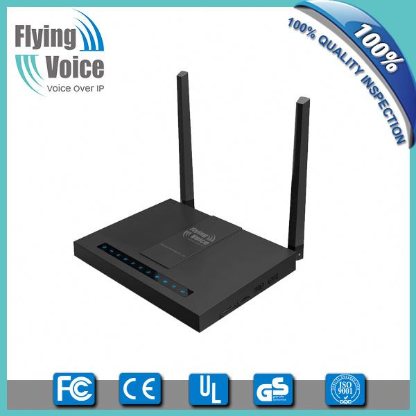 flyingvoice best voip provider hosted sip phone adapter/voip gateway FWR7202