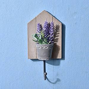 CCWY Creative hooks wooden doors coat hook slot panel hooks wooden craft Home Decorations