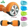 6.5 inch 2 wheel self balance scooter silicone case mix color healthy silicone material non stick dust proof