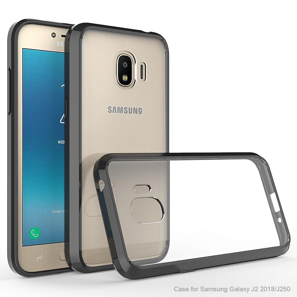 online retailer 52e9a bdb24 2018 Crystal Cover Case For Samsung Galaxy J2 Transparent Case Cover ...