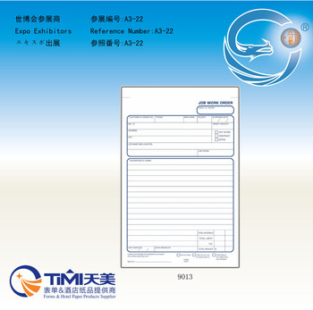 Invoice Book Business Forms Sales Order Book Job Work Order Book - Work invoice book