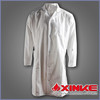 White waterproof lab coat with first class