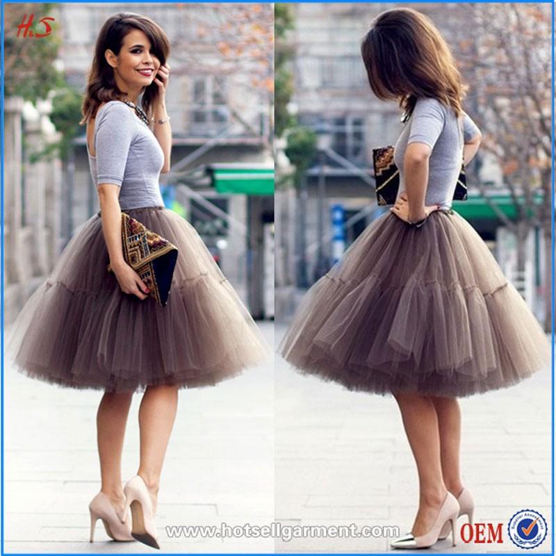 China Supplier Oem Service Design Mini Women Skirt Adult Tutu ...