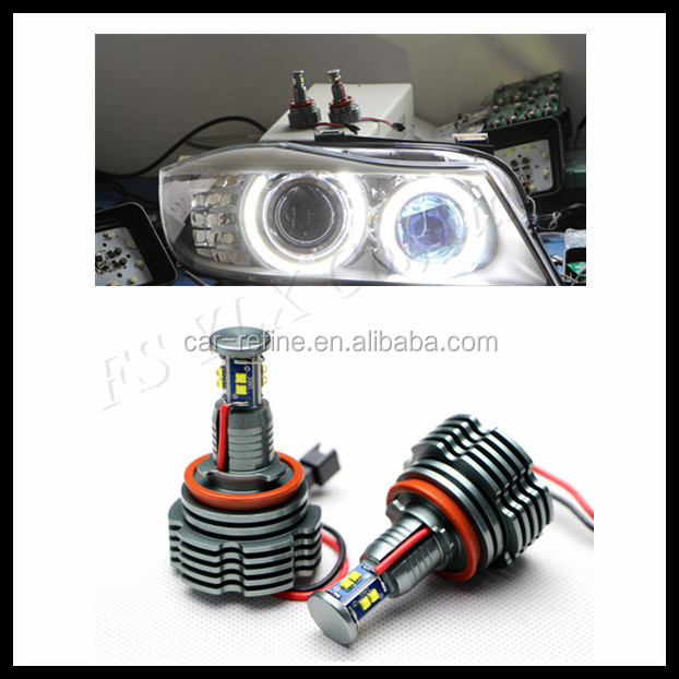 NEW H8 40w Angel Eyes led lights C REE Led marker for bmw e82 e87 e90 e91 e92 e93 e70 e71 x5 x6 e89 z4 e60 e92 headlight