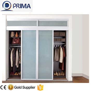 Prima Interior Frosted Glass Closet Door Sliding Door