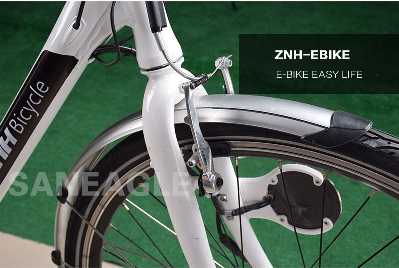 "2016 alloy for the 28""city electric bike , 250w,lithium 36v 10Ah public city bike electric"