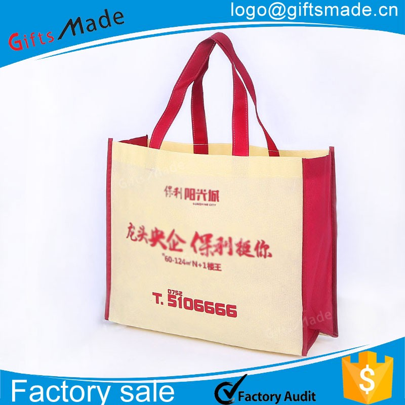 wholesale personalized wine tote poly pp non woven bag