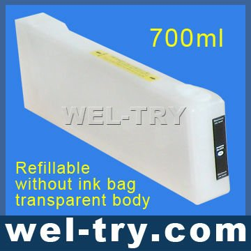700ml Refillable without ink bag cartridge for epson 7900/9900