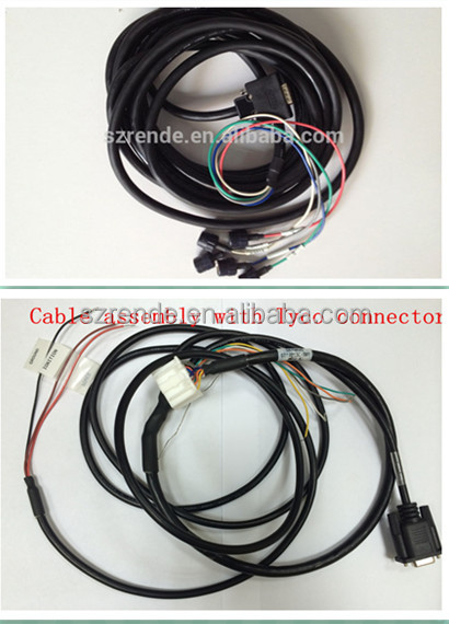 electric cooker jst wire harness automotive battery cable assembly