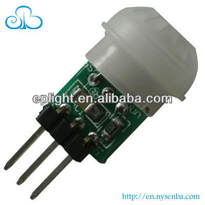 10 by 8mm size 3-5m PIR Sensor motion module , factory price