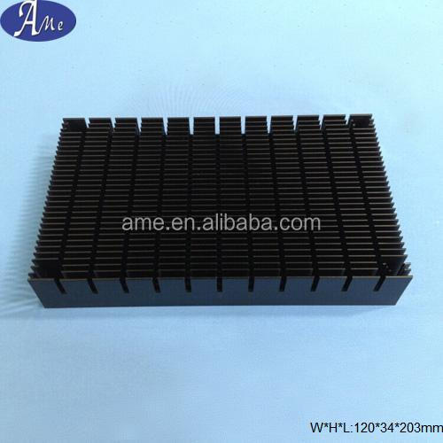 extrusion aluminum car amplifier heat sink