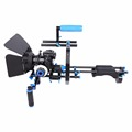 YELANGU D201 Professional Shoulder Rig Aluminium Alloy Camera Support DSLR rig +Matte Box+Follow Focus+C-shape Support