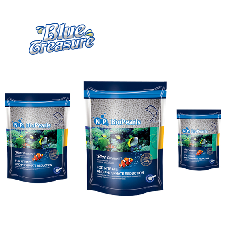bio parels voor zoutwater aquarium 500ml/bag