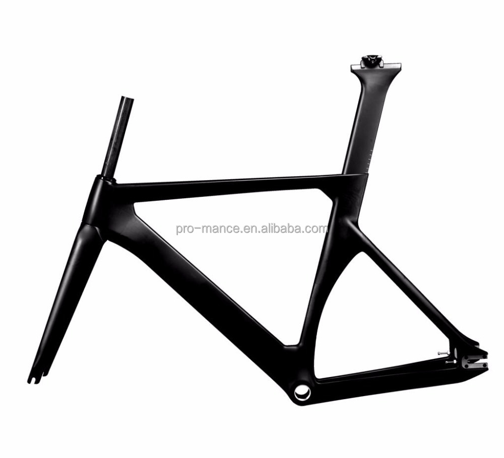 Top Supplier China FM128 700*25C MAX Tire Fixie Bicycle Carbon Track Bike Frame