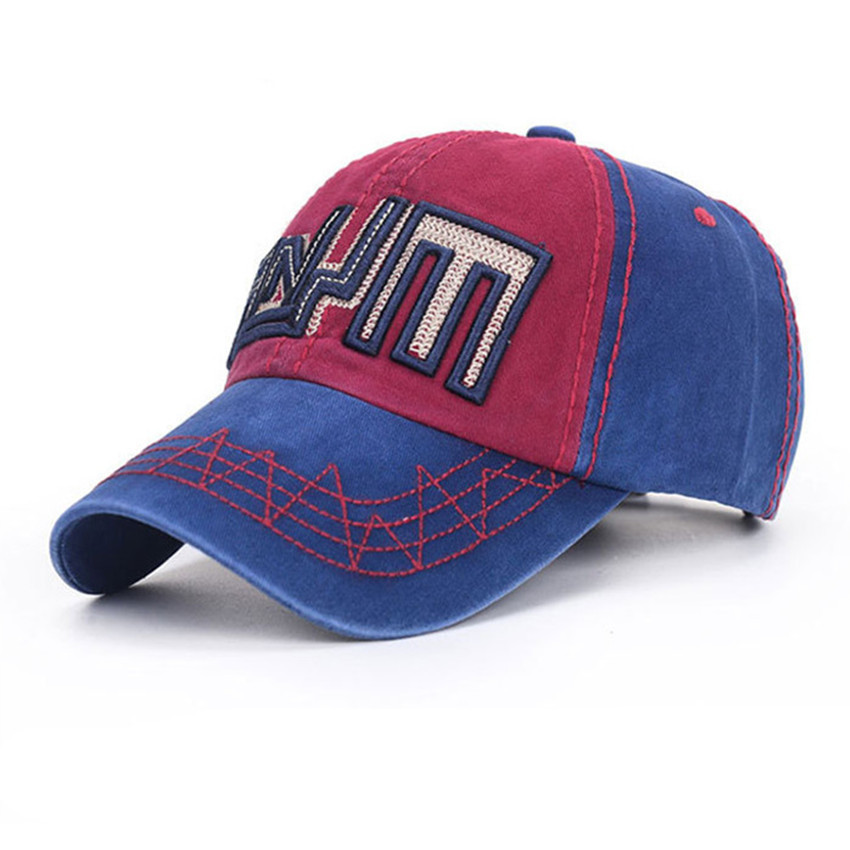 Hot Sale Mens Baseball Snapback Retro Embroidery Letter Finishing Male Women's Summer Sunbonnet Outdoor 100% Cotton Cap