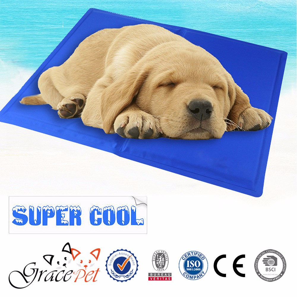 Large Pet Cooling Mat - Cold Gel Pad For Cats and Dogs