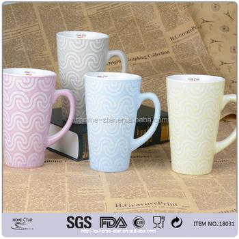 500 Ml China Tall Ceramic Coffee Mugs Mug