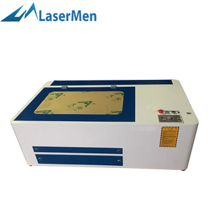 desktop leather cnc laser cutting mahcine/cloth co2 laser cutting machine/co2 laser LM-6040