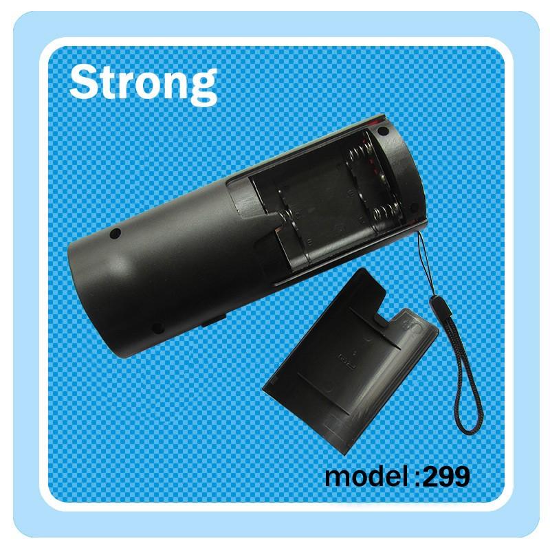 3*aa Battery Led Mini Flashlight Three Mode Plastic Work Torch ...