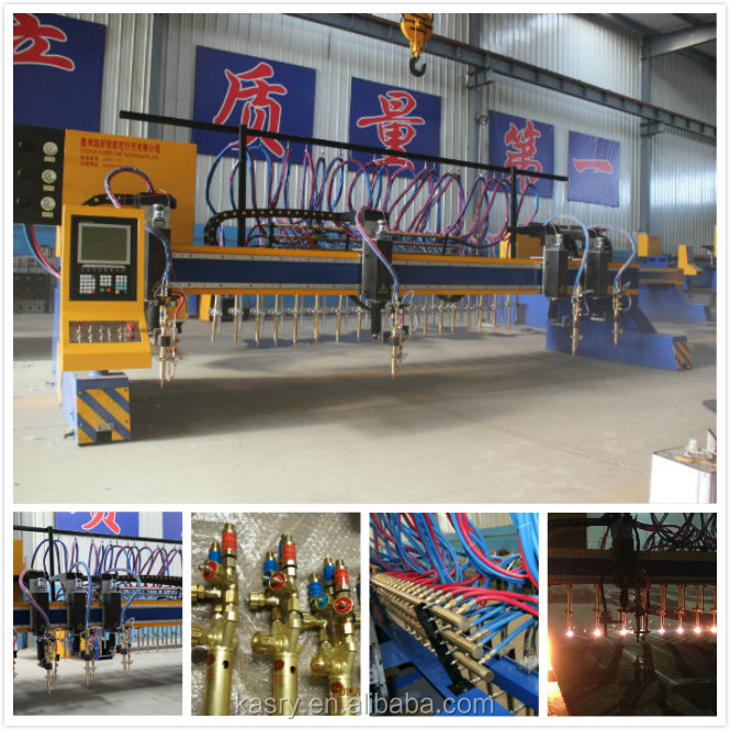 line h beam fabrication Gantry multy stripe cnc cutting machine with flame/plasma cutting
