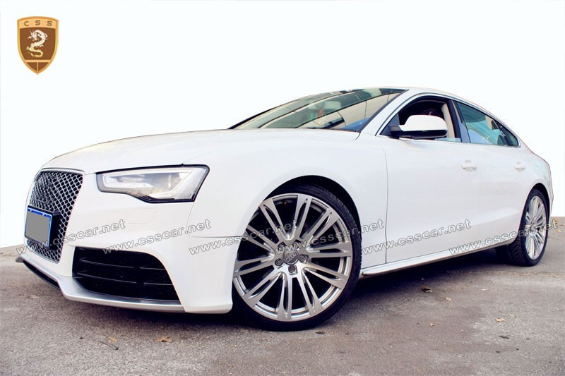 body kit for audi 2014 2016 a5 rs5 style pp material. Black Bedroom Furniture Sets. Home Design Ideas