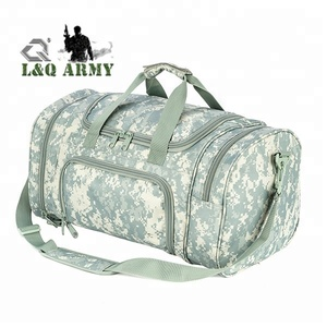 Camo Duffel Sports Bags, Travel Gym Fitness Bag