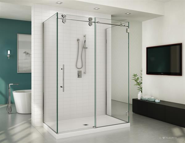 Free Standing Gl Shower Enclosure