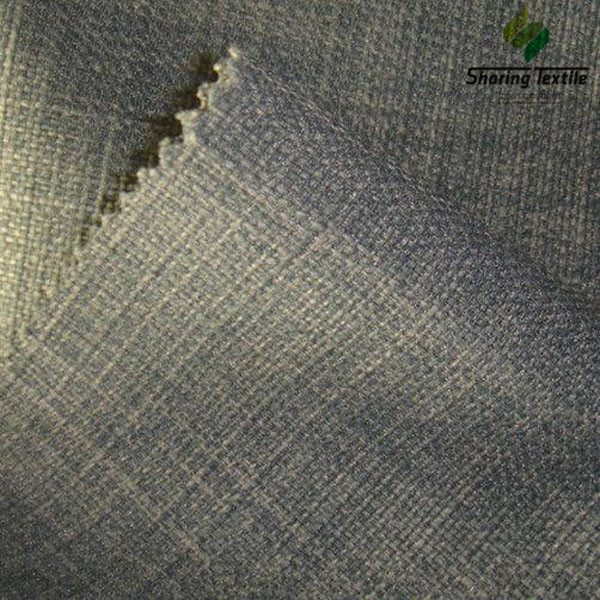 Polyester Linen Type Fabric Use For Upholstery