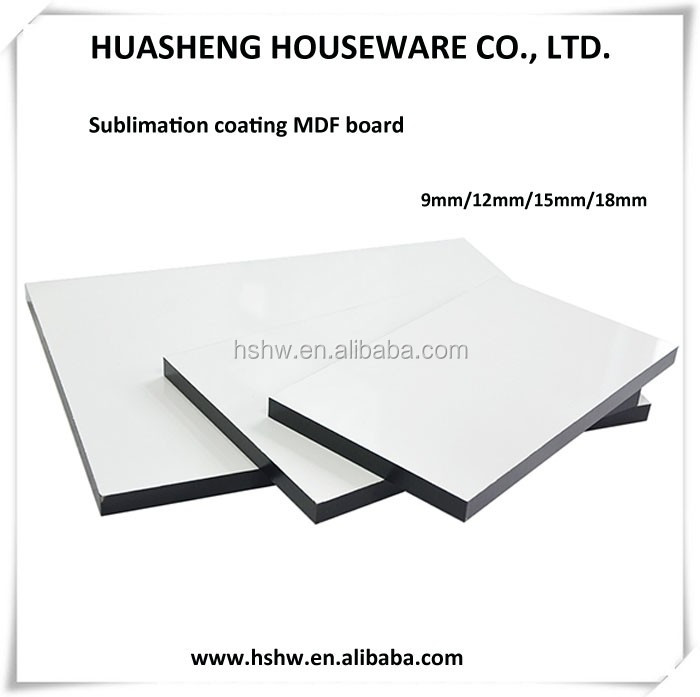 sublimation mdf wall photo panel, heat transfer wood picture hardboard