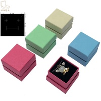 Small universal jewelry box for jewelry sets rings earrings pendants